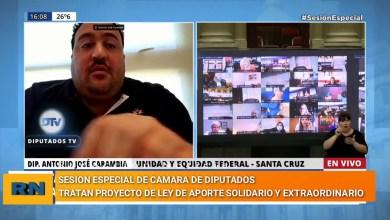 Photo of Redacción Noticias |  Antonio Carambia se refirió al conflicto municipal que sucede en la ciudad de Las Heras