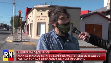 Photo of Redacción Noticias |  Alan el Malabarista – Su espíritu aventurero lo trajo de pasada por los semáforos de nuestra ciudad