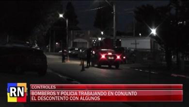 Photo of Redacción Noticias |  Bomberos y policías realzan controles en distintos puntos de la ciudad en horario restringido