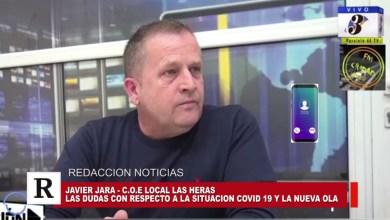Photo of Redacción Noticias |  COE LAS HERAS: Javier Jara habla sobre como trabaja el Municipio ante una posible 2da ola