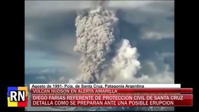 Photo of Redacción Noticias |  VOLCAN HUDSON EN ALERTA AMARILLA – LAS HERAS SANTA CRUZ