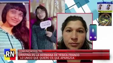 Photo of Redacción Noticias    COMUNICACION TEL. CON CRISTINA HERMANA DE LA MENOR DESAPARECIDA