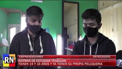 Photo of Redacción Noticias    Ellos tienen 16 y 19 años y ya emprendieron una peluquería.