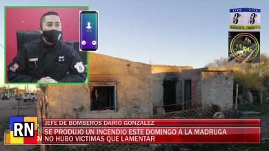 Photo of Redacción Noticias    Jefe de Bomberos Darío Gonzalez nos comenta sobre el incendio sucedido en zona centrica