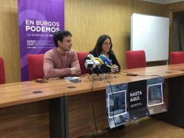 PSOE PODEMOS Hospital Universitario de Burgos