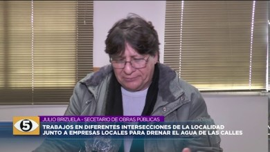 Photo of 5VN Cinco Visión Noticias |  Trabajos en diferente intersecciones de la localidad.