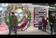 Photo of 5VN Cinco Visión Noticias |  Emocionada tras el corte de cinta y el mural de Andrés Machiavello