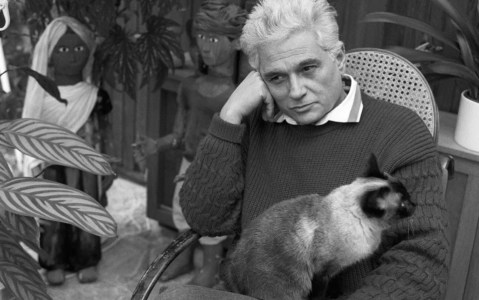 Jacques Derrida et son chat