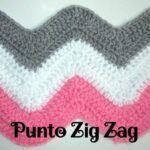 Punto Zig Zag a Crochet