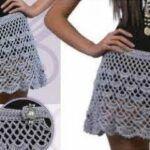 DIY Falda de verano a crochet