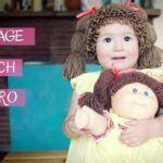 Gorro de la muñeca Cabbage Patch tejido a crochet
