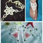 DIY Pulseras tobilleras para pies descalzos