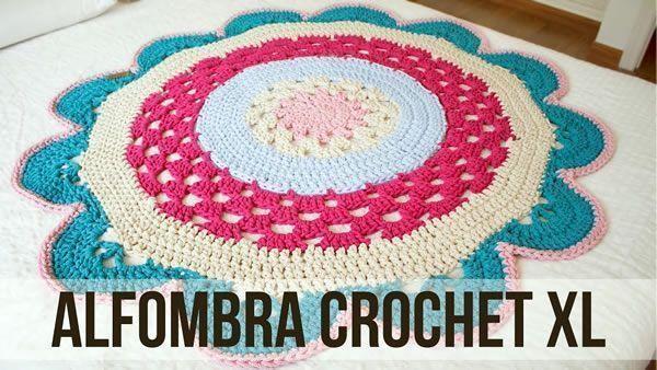 DIY Alfombra crochet XL