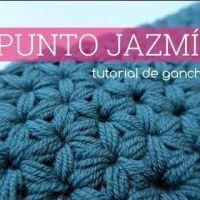 Punto Jazmín a crochet