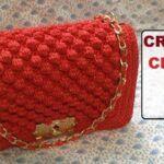 DIY Bolso a ganchillo tipo Chanel