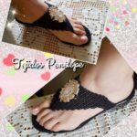 DIY Sandalias tejidas a crochet paso a paso