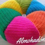 Cojín Tejido a Crochet Paso a paso