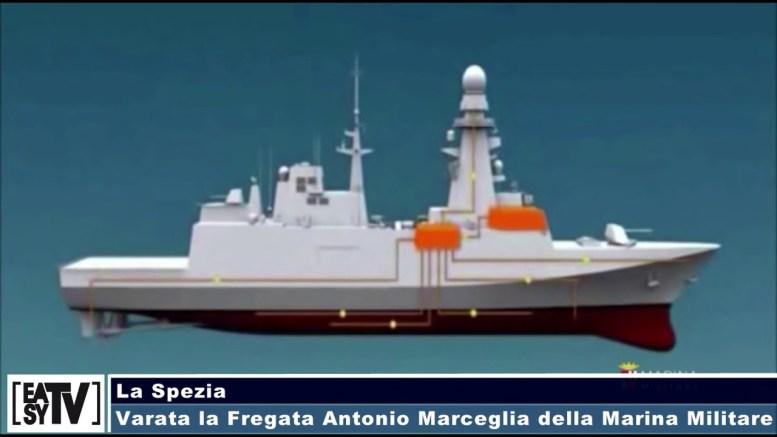 Calendario Marina Militare 2020.La Spezia Varata La Fregata Antonio Marceglia Della