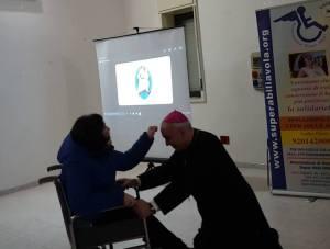 giusy Latina e il Vescovo Stagliano