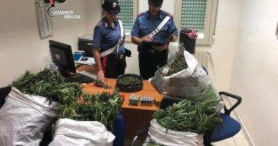 arlentini: Carabinieri arrestano uomo per possesso di stupefacenti e munizioni