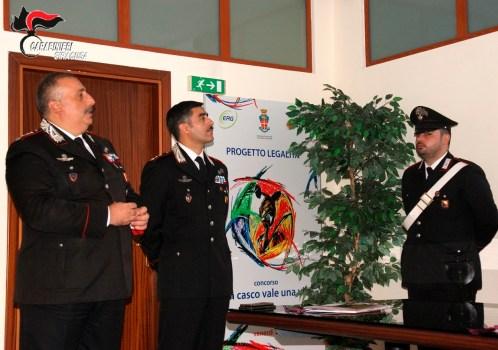 Presentato il nuovo calendario storico dei Carabinieri