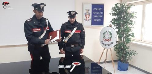 Ordinanza di custodia in carcere eseguita dai carabinieri