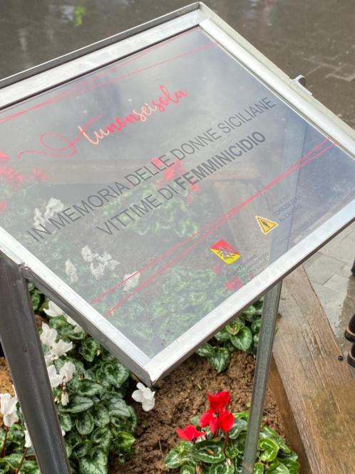 #Tunonseisola settimana contro il femminicidio