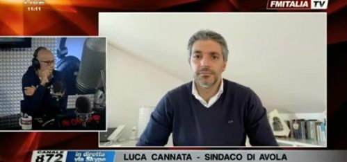 In diretta a radio 24 lite tra Cruciani e il sindaco Cannata