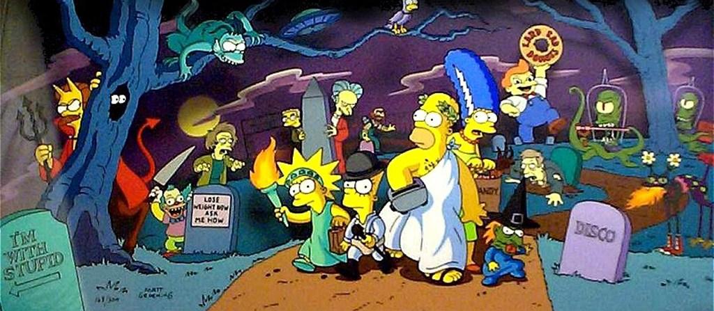 Las casitas del terror de los Simpsons serán emitidas a fines de octubre