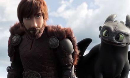 El teaser de 'Cómo Entrenar a tu Dragón 3'