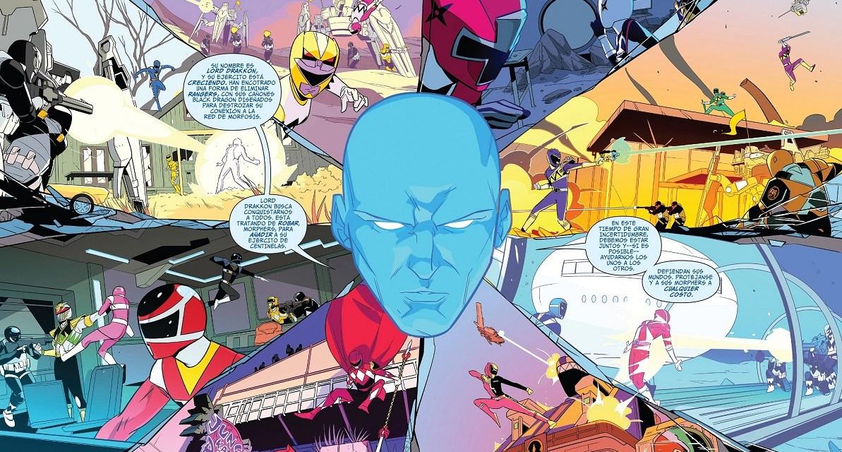 [Power Rangers Shattered grid 03] Desperdigados