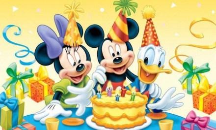 ¡Cumpleaños Feliz! Mickey Mouse cumple 90 años