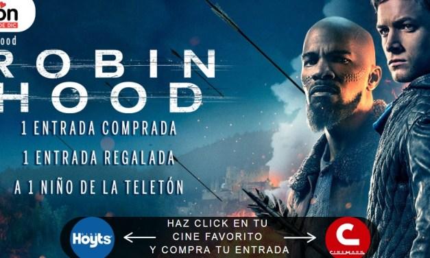 La Nueva Cinta Robin Hood se compromete con la Teletón 2018