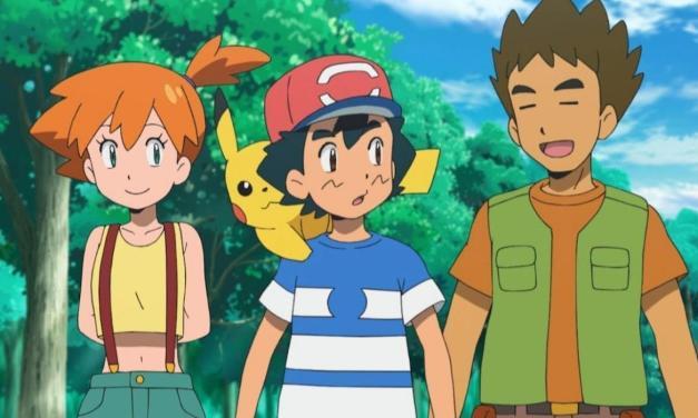 Ash se volverá a reunir con Misty y Brock en Pokémon: Sun and Moon