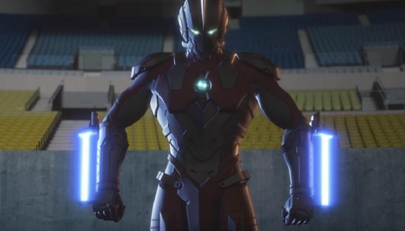 El tráiler de la serie Ultraman de Netflix