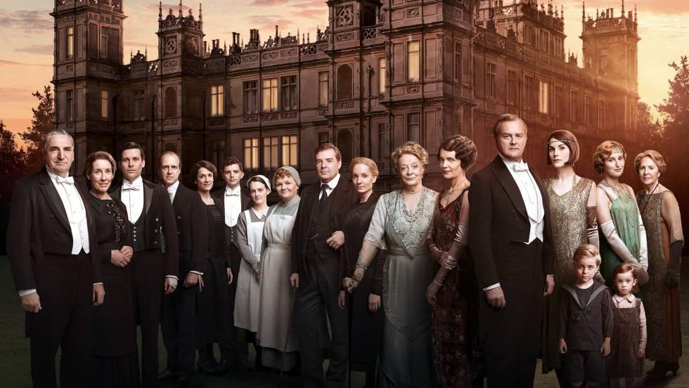 Las primeras imágenes de la película de Downton Abbey
