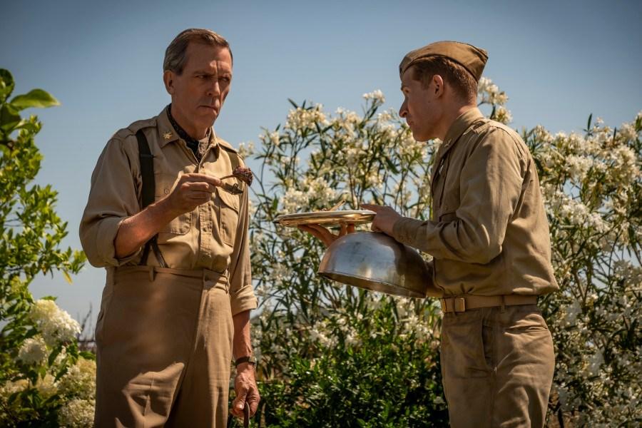 Catch 22 la serie que reúne a Hugh Laurie y George Clooney