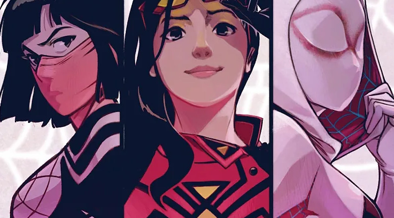 Spider Gwen, Spider Woman y Silk estarían juntas en una película