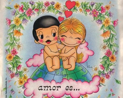 [Recuerdos en láminas] Amor es: Ternura y romance