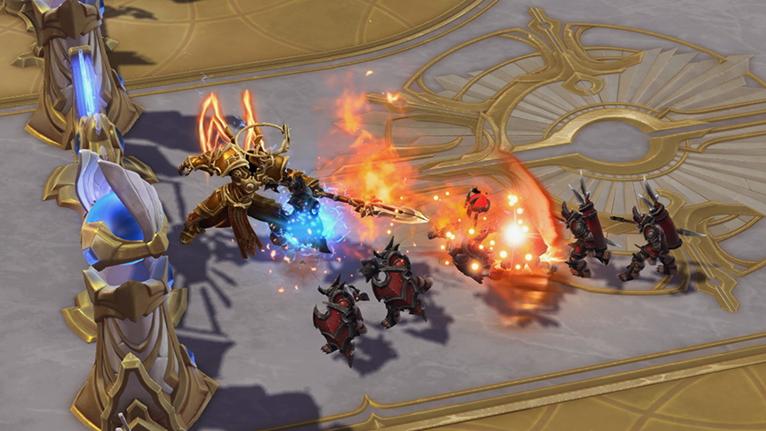 Imperius, Arcángel de Valor, ya está disponible en Heroes of the Storm