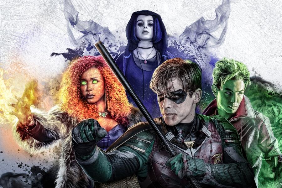 En marzo serían las filmaciones de la segunda temporada de Titans