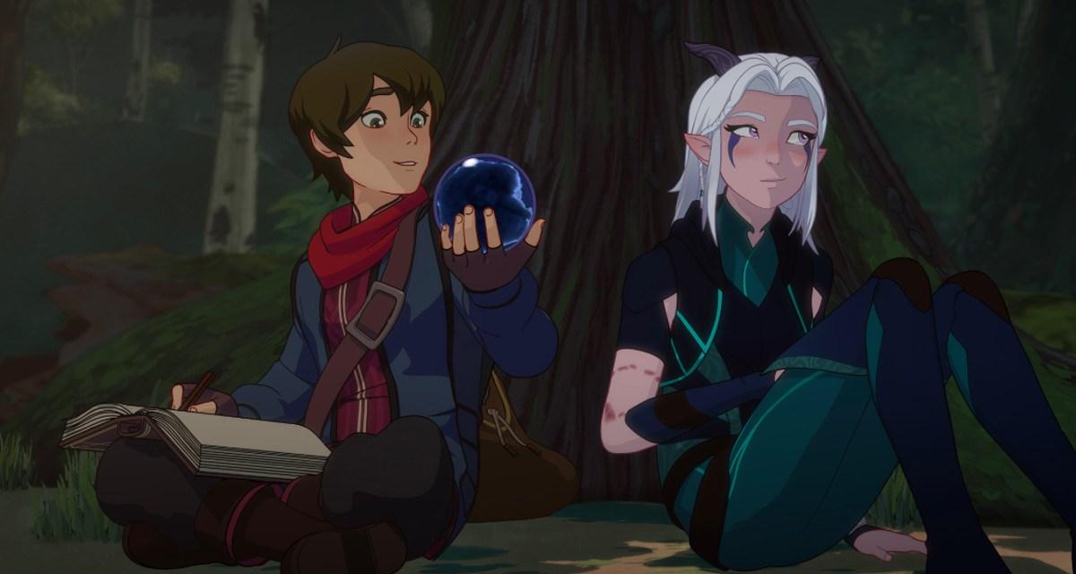 The Dragon Prince presenta el tráiler de su segunda temporada