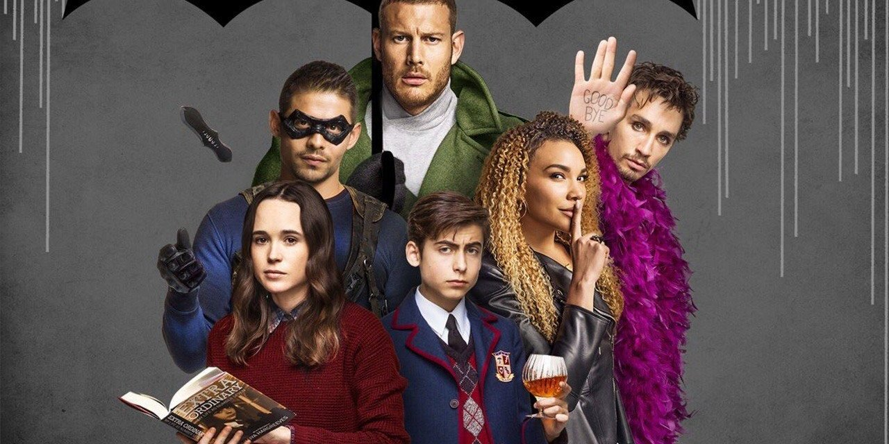 Puro divando: El tremendo hit que es The Umbrella Academy para Netflix