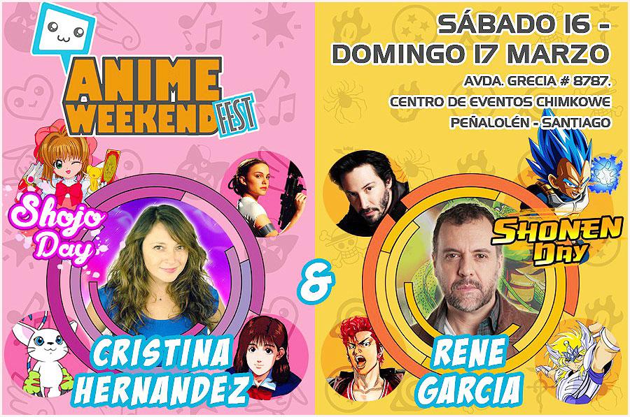 #AnimeWeekendFestChile ¿Preparados? ¡A partir de mañana se viene el Anime Weekend Fest Chile!