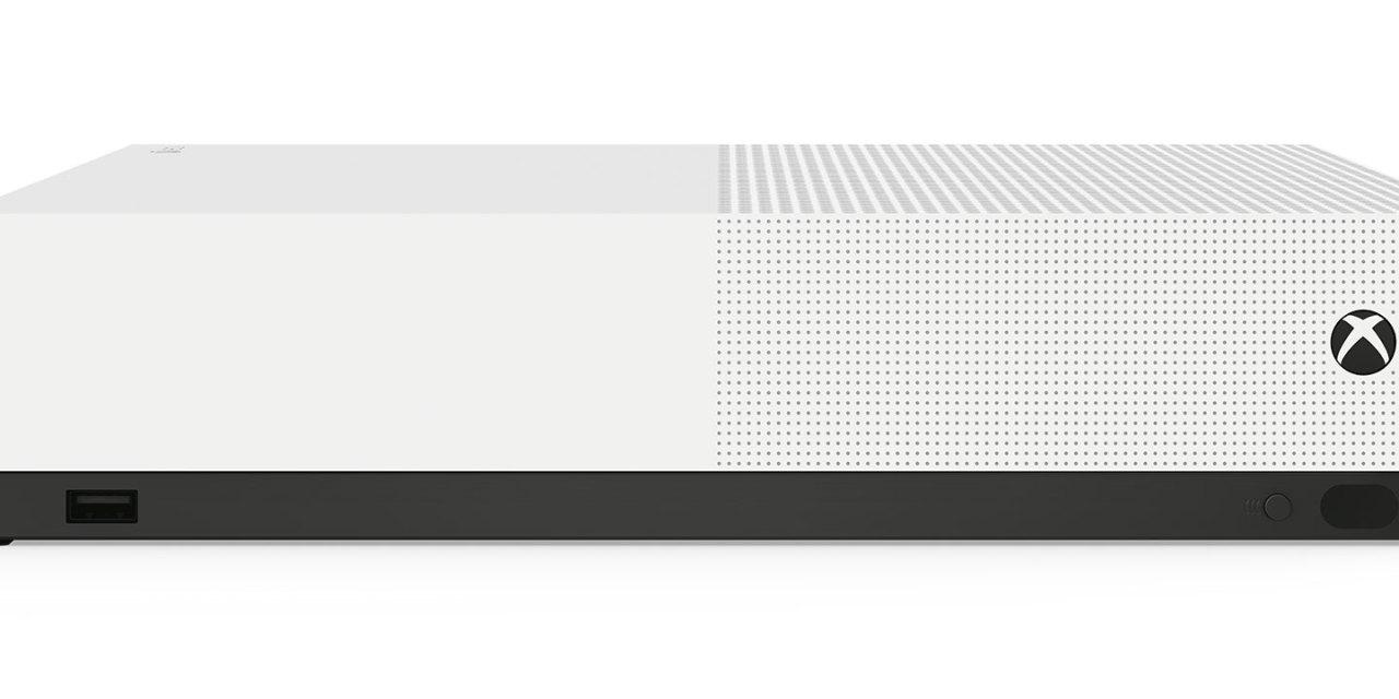 Se anuncia oficialmente Xbox One S All-Digital