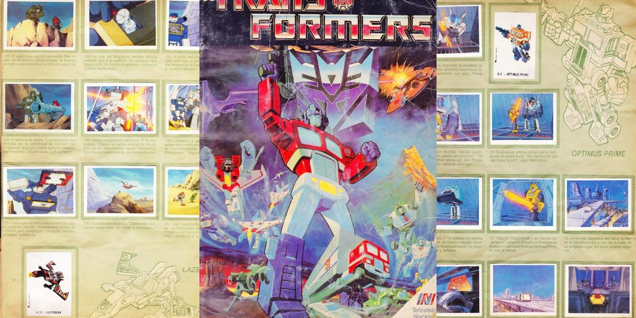 [Recuerdos en láminas] Transformers