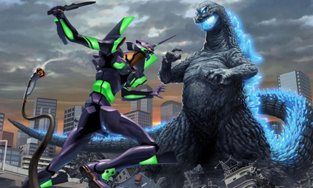Besto Crossover ever: ¡Godzilla se enfrenta a los EVA's!