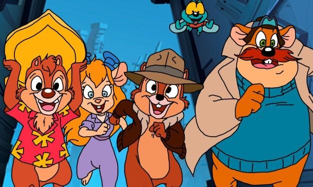 Disney + piensa tener una serie de Chip and Dale