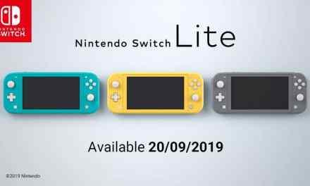 Se anuncia Nintendo Switch Lite, la nueva versión de Nintendo Switch