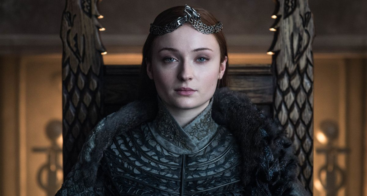 Sophie Turner habla del final de Sansa Stark en Game of Thrones